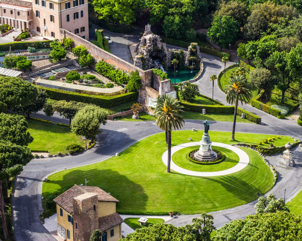 Vatican Gardens private tour | Private or Small group travel experiencing the magical Vatican Gardens!